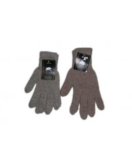 Перчатки верблюжьи серые